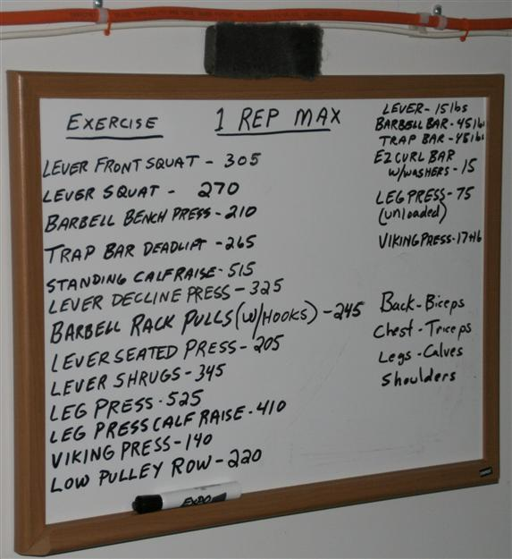 Bench 1rm: One Rep Max Calculator