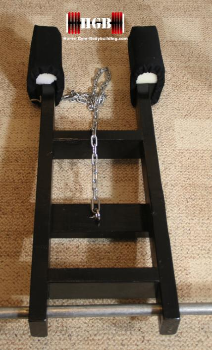 Homemade Calf Raise Machine