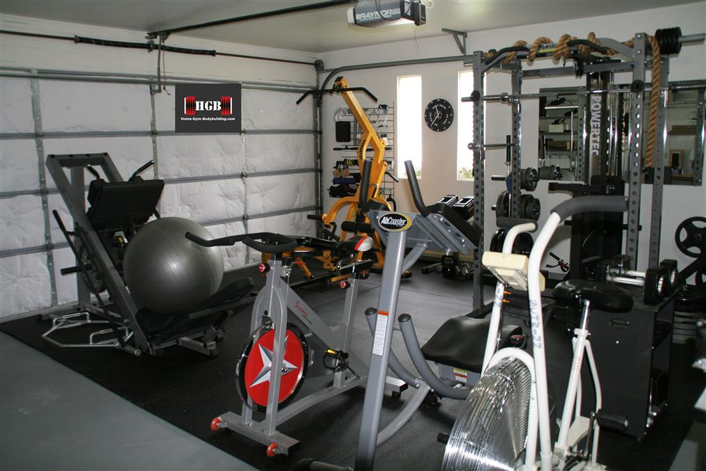 Garage gym for How to create a home gym