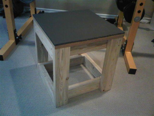 Homemade weight training equipment for Diy dumbbell rack wood