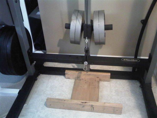 Homemade Weight Training Equipment