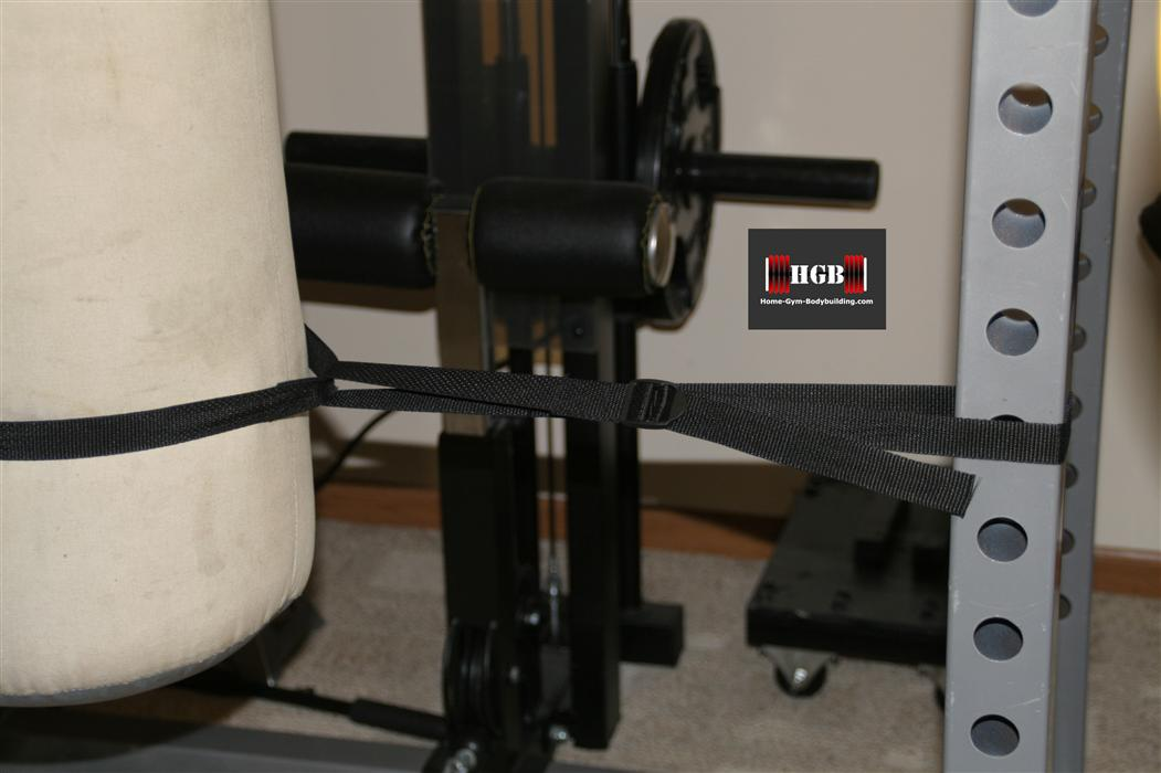 Homemade Heavy Bag Stand