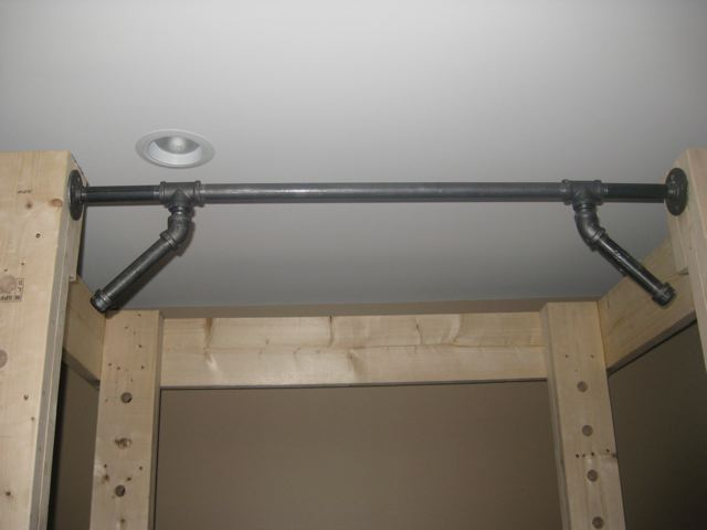 Homemade Pull Up Bar Pipe