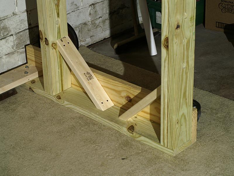How to build build wooden power rack pdf plans for Homemade weight rack plans