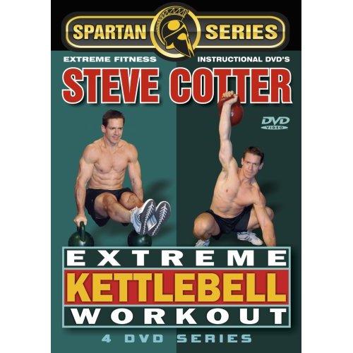 Kettlebell Workout Dvds Kettlebell Fitness Training Dvd: Power Systems Steve Cotter Extreme Kettlebell Workout DVD