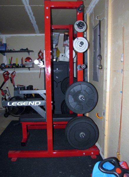Legend Fitness 3142 Half Rack Review