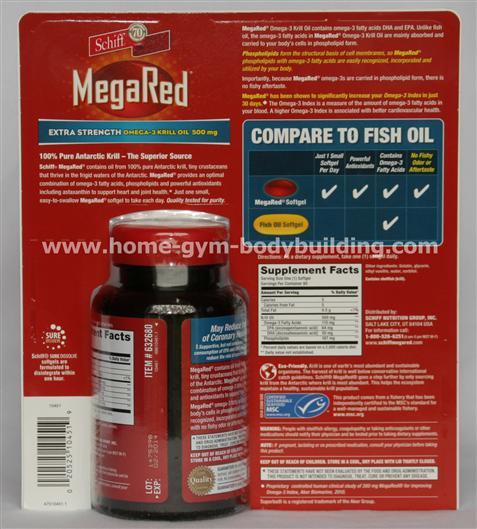 Krill oil vs fish oil for Red fish oil