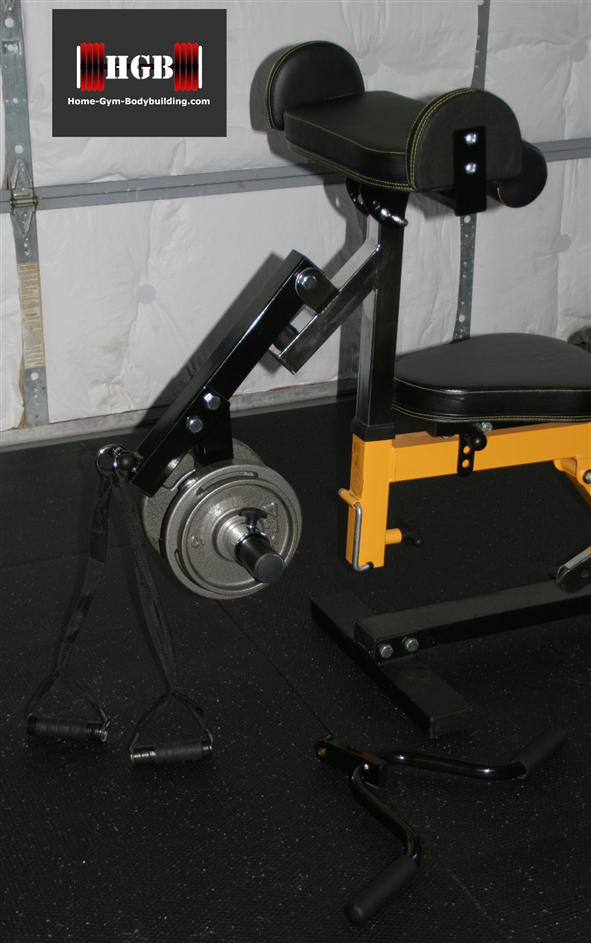 Powertec Workbench Curl Machine Accessory Wb Cma Review