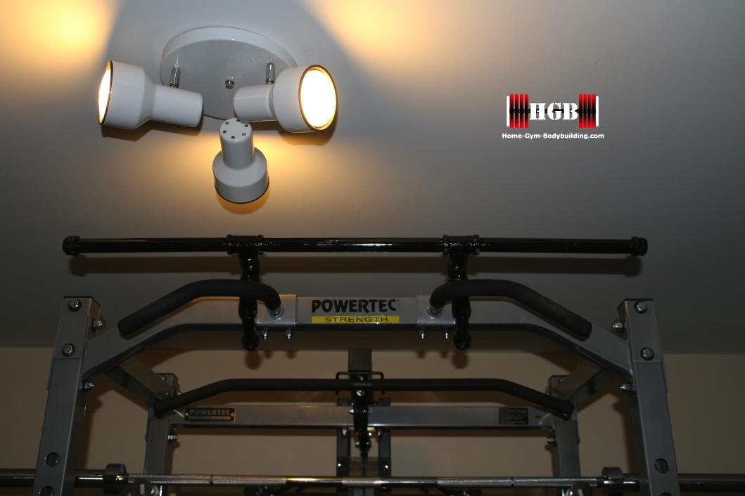 how to make a pull up bar in your garage