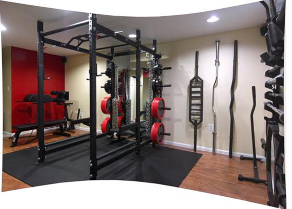 Images about home gyms on pinterest garage gym