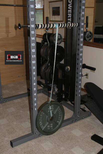Homemade Forearm Exerciser Wrist Roller