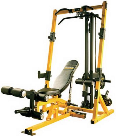 Powertec Fitness Workbench Rack System