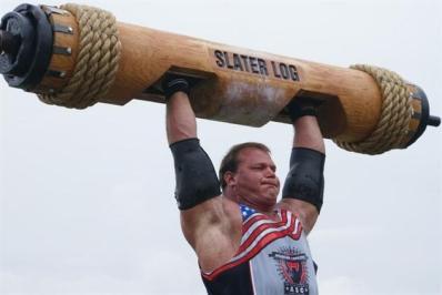 strongman logs