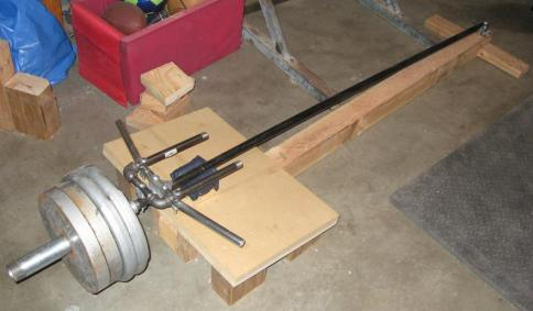 t-bar-rowing machine