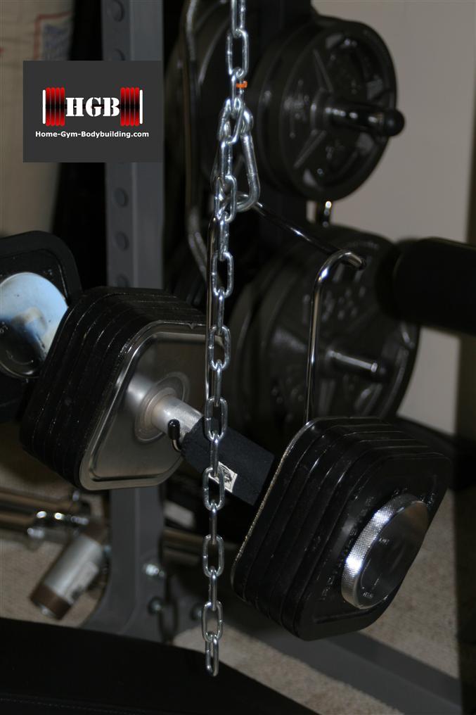 Homemade Dumbbell Spotting System