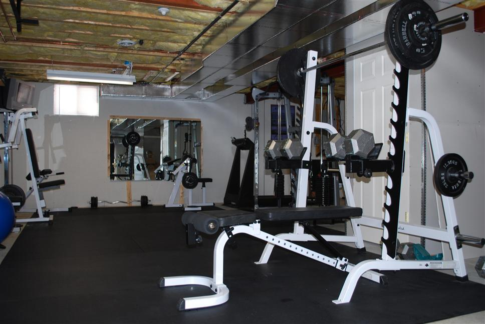 Home basement garage gym pictures page