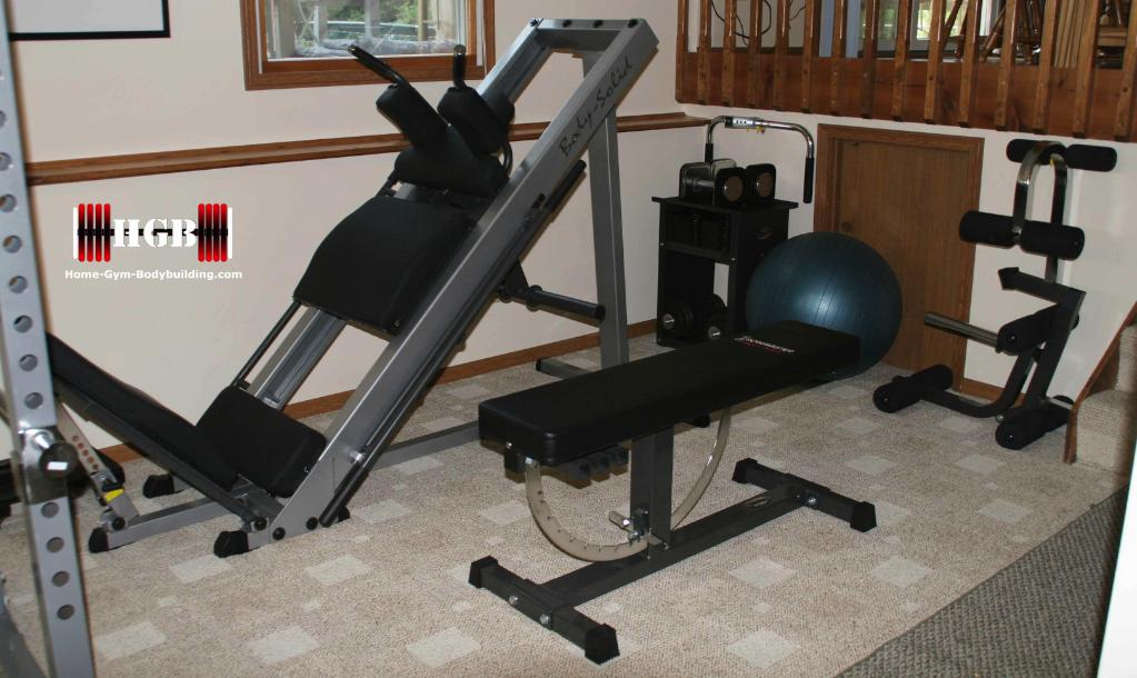 Home Gym Leg Press