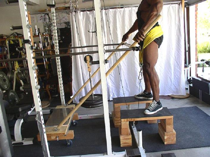 how to build your own squat rack out of wood
