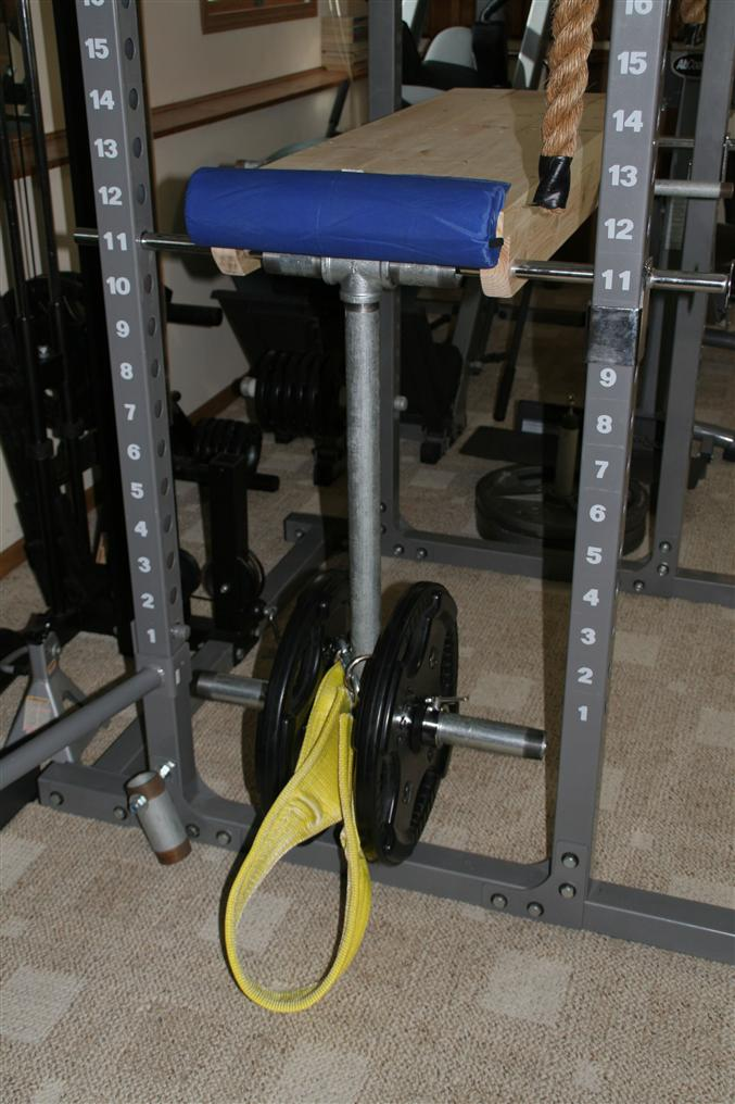 homemade reverse hyperextension