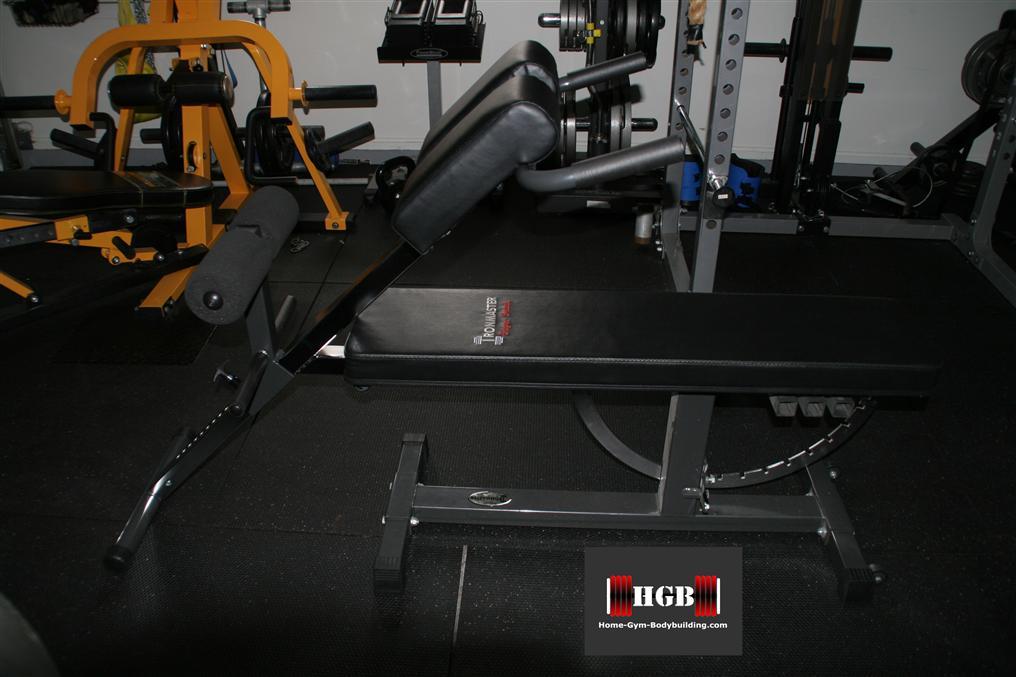 Ironmaster hyper core 45 degree hyper extension attachment