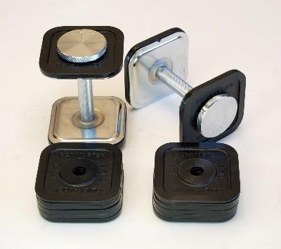 ironmaster quick lock dumbbell 45lb set