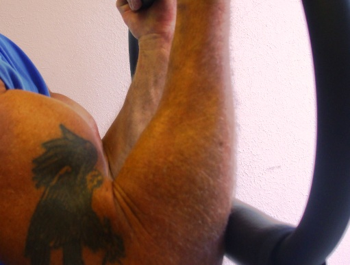 Build bigger biceps quicker with the Scorpion Iso-Bar