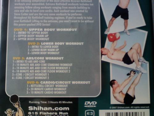 Power Systems Steve Cotter Extreme Kettlebell Workout DVD Review
