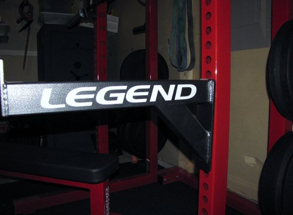 legend ftiness 3142 half rack
