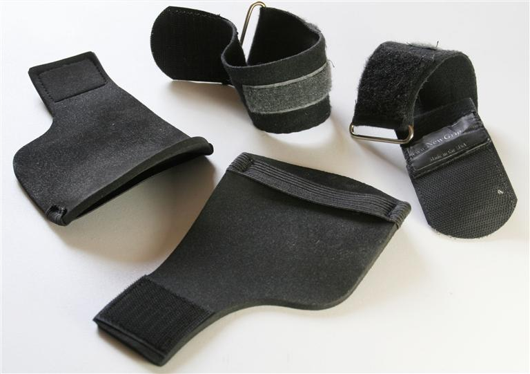 Used newgrip weight lifting gloves
