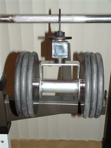 Power Spot Self Spotting Barbell And Dumbbell Machine