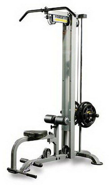 Powertec Fitness Lat Machine