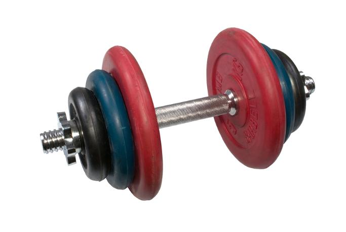 spin lock dumbbell