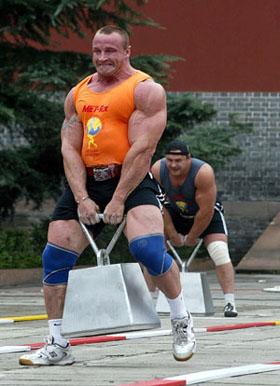 strongman mariusz pudzianowski