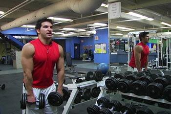 Vince Delmonte biceps