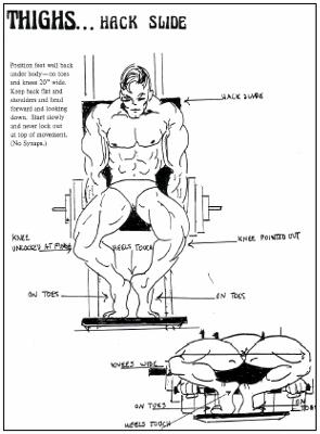 Vince Girondas Hack Squat