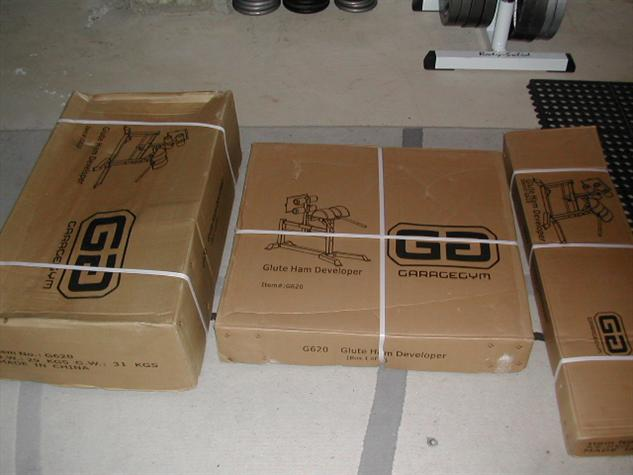 Garage Gym GHD Packaging