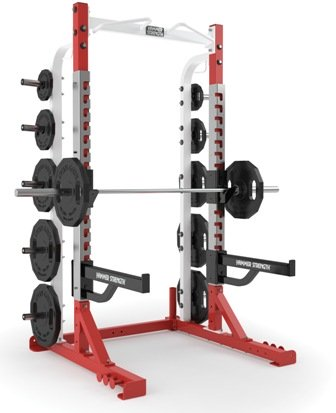 hammer strength half rack