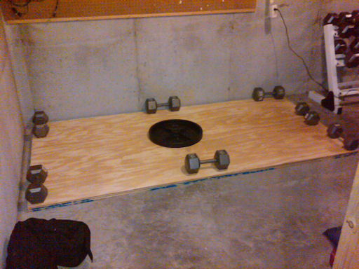 Homemade Deadlifting Platform