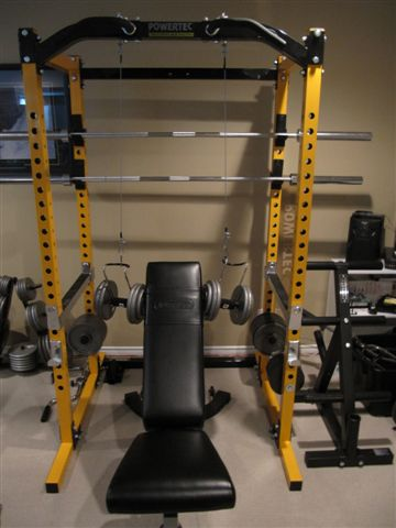 Homemade Weight Training Equipment