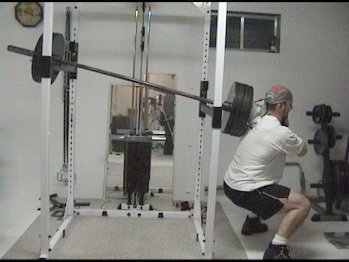 Homemade hack squat machine