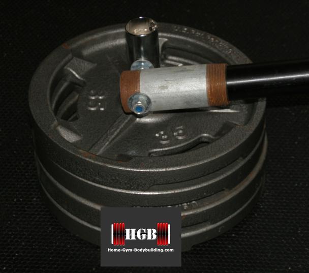 homemade post landmine