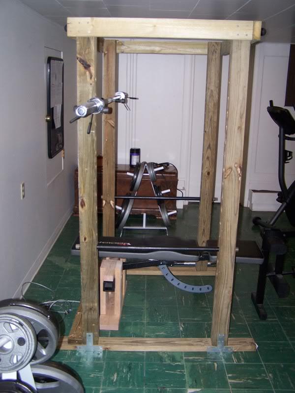 Homemade 4x4 Power Rack