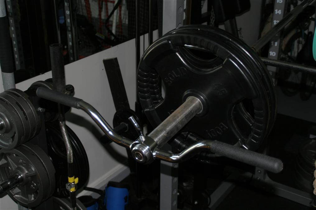 homemade shoulder press machine