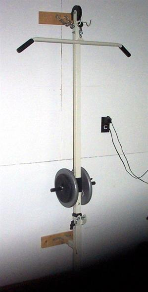 homemade wall mounted lat tower