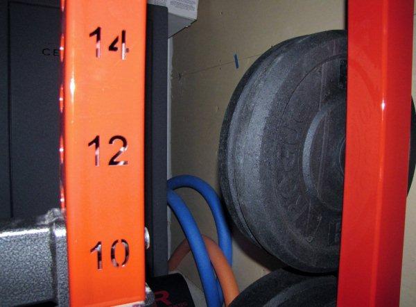 legend ftiness 3142 half rack