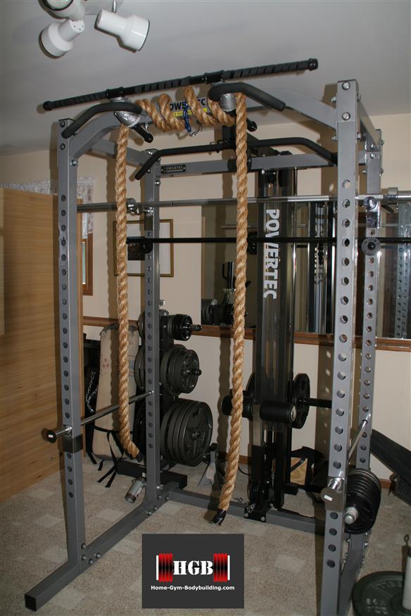 Rope pull-ups