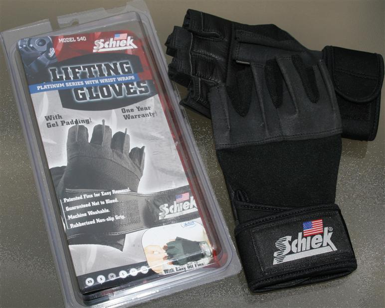 Schiek 540 Platinum Lifting Gloves review