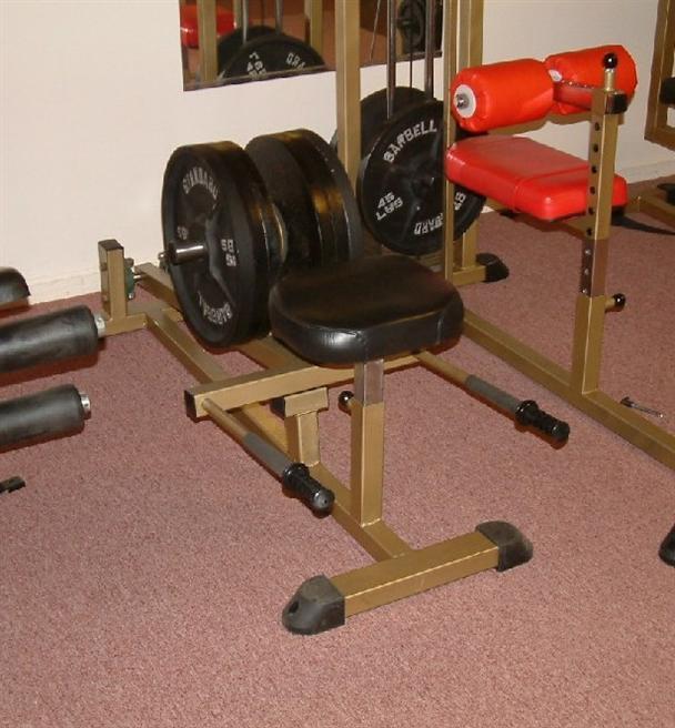 Seated shrug machine
