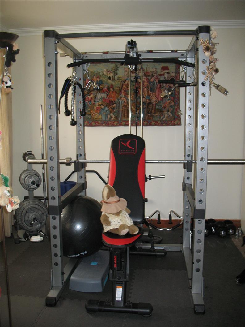 Silvana B home gym