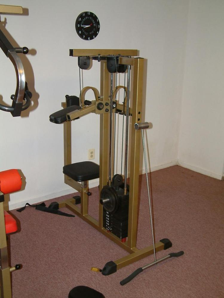 Homemade weight lifting equipment